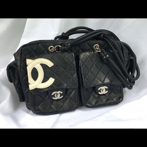 Chanel Cambon Reporter bag genuine authentic